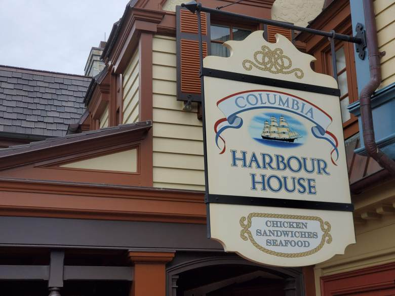 WDW Quick Service location, Columbia Harbour House, Magic Kingdom, seafood, DDP, Disney Dining Plan, Quick Service, WDW, Walt Disney World,