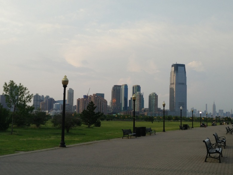 Jersey City, Liberty state park, NYC