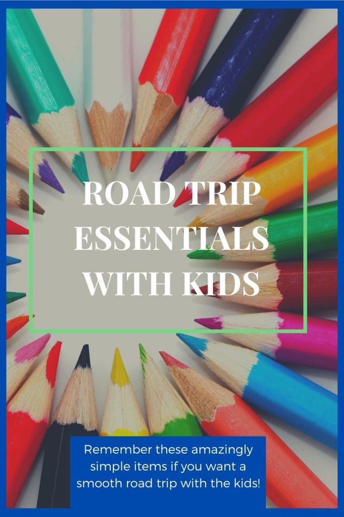 Road Trip, Kids, Essentials,