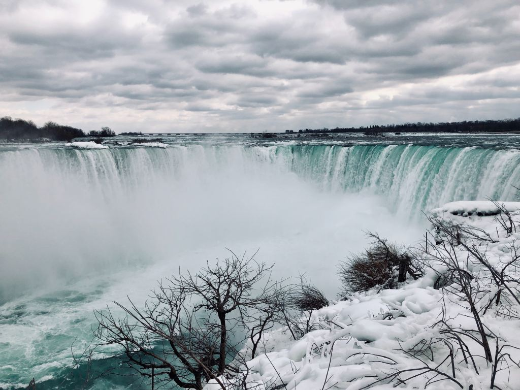 waterfall, frozen, Niagara Falls, New York, Road Trip, East Coast USA, America, Travel, United States, Holiday, Vacation,