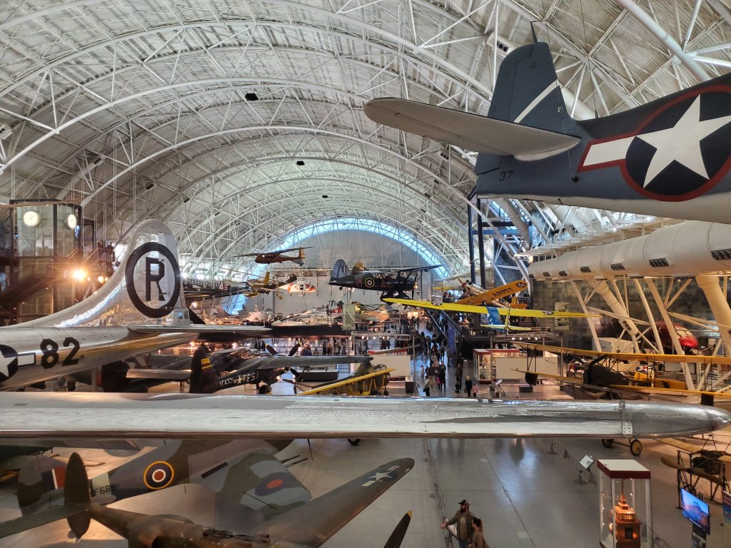 Smithsonian, Museum, Air and Space, Steven F. Udvar-Hazy Center, Washington DC, Fairfax County, VA, aircraft, WWII planes, Enola Gay, Army air corp, Air Force, bomber,