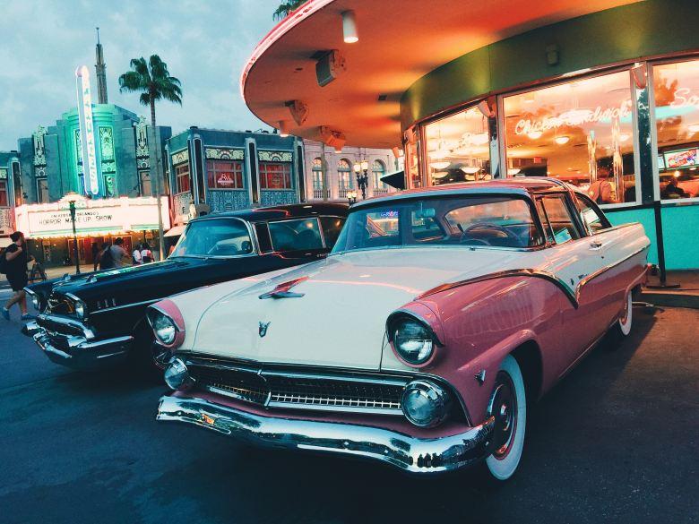 Mel's Drive In, Walt Disney World, Universal Orlando, Theme Park, Orlando, VS, family friendly, Fun,