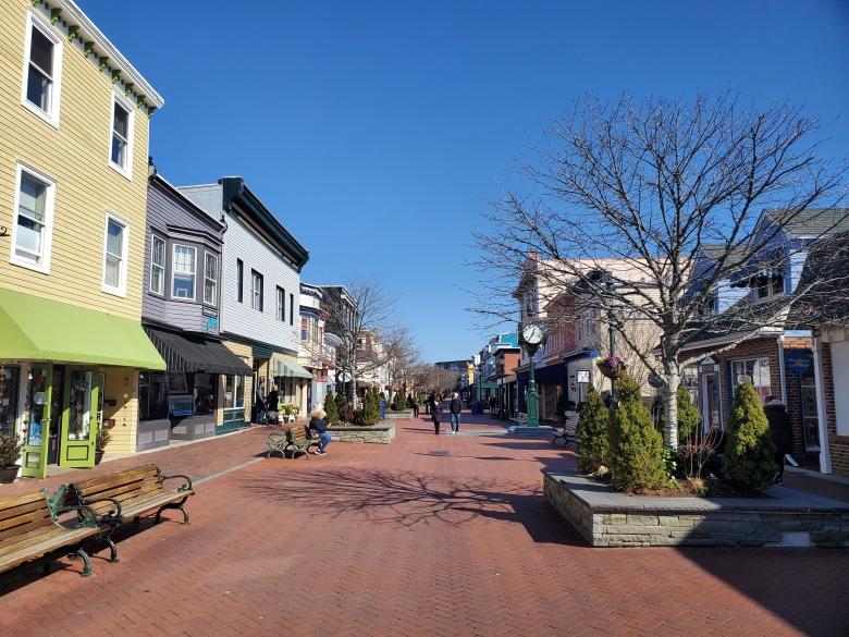 Washington Street Mall, Cape May, NJ, New Jersey, Shore, Vacation, Beach,
