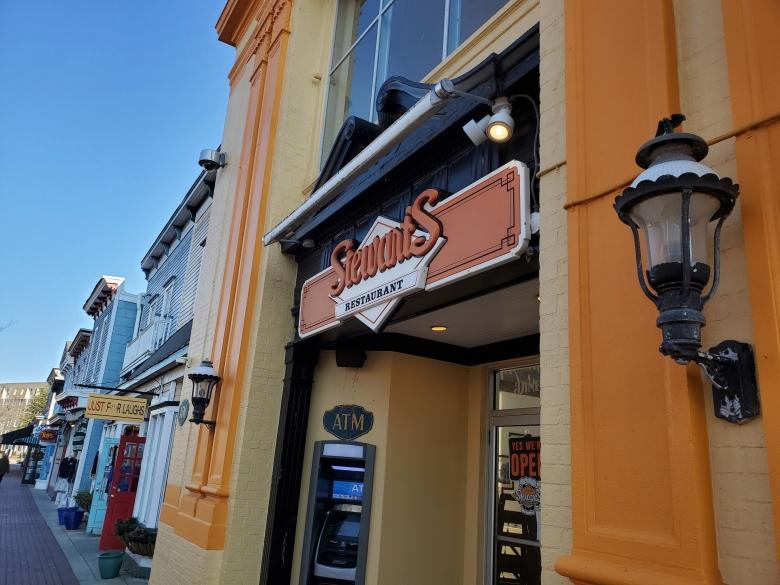 Stewart's Restaurant, Washington Street Mall, Cape May, NJ, New Jersey, Shore, Vacation, Beach,