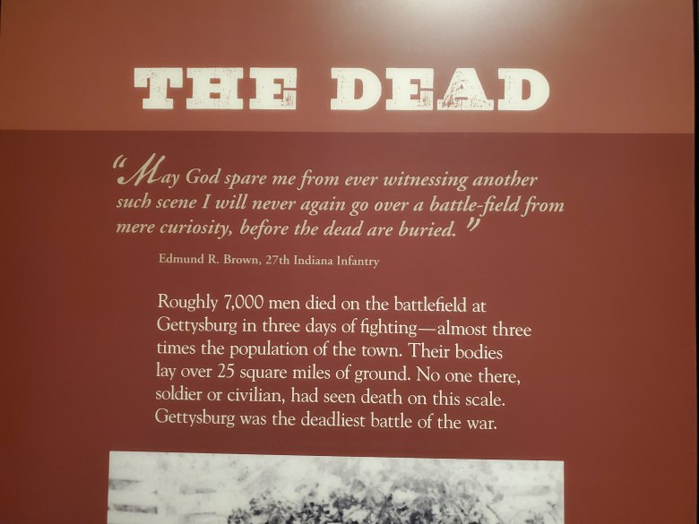 Gettysburg National Military Park, Visitor Center, Museum, PA, Civil War, Union, Confederate, vacation, road trip,