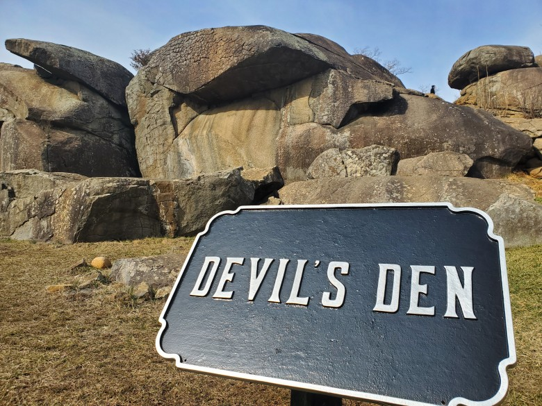 Devil's Den, battlefield, Gettysburg National Military Park, Visitor Center, Museum, PA, Civil War, Union, Confederate, vacation, road trip,