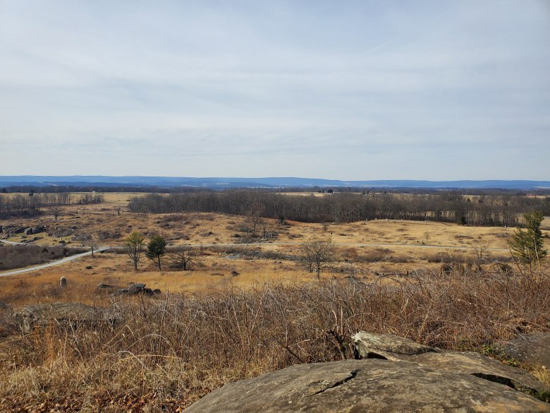 little round top, Gettysburg National Military Park, Visitor Center, Museum, PA, Civil War, Union, Confederate, vacation, road trip,