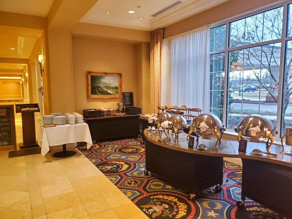 buffet, Hotel, Wyndham, Gettysburg, PA,