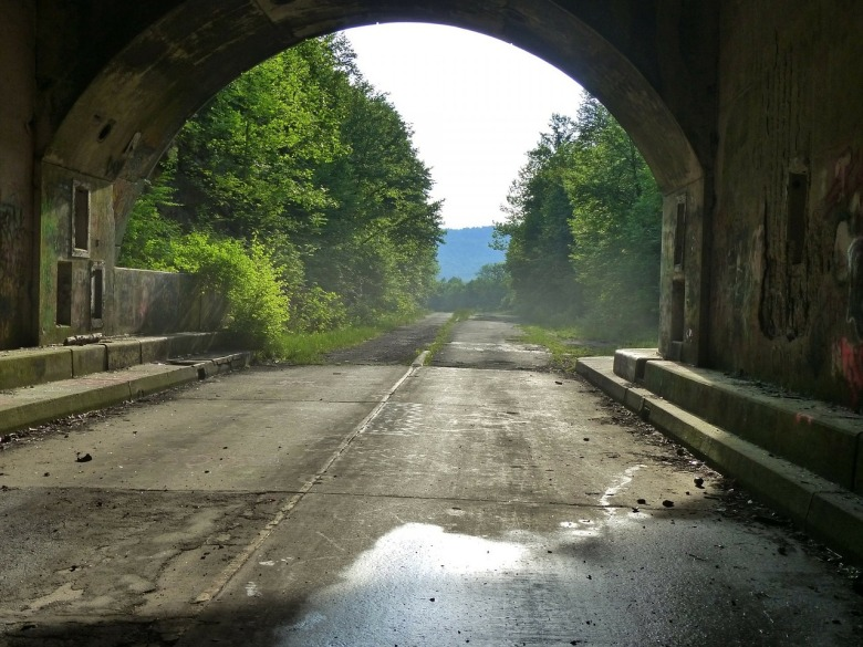 Abandoned, tunnel, Pennsylvania, Northeast, spooky,