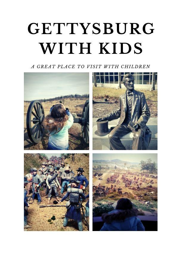 Gettysburg, PA, Kids, Vacation, Family friendly, fun, civil war, union, confederate,