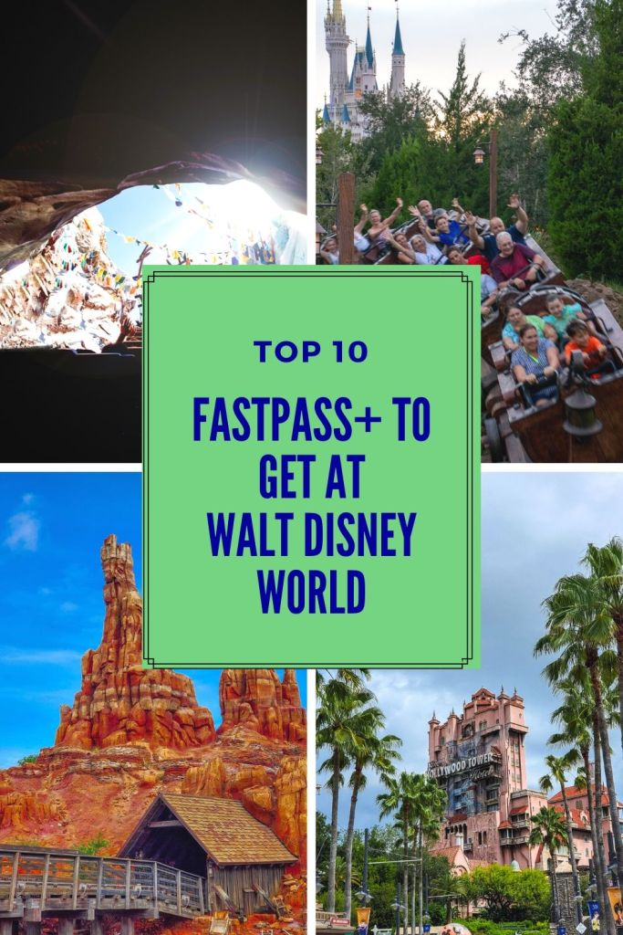 top ten, FastPass+, FastPass, FP+, Fast Pass, WDW, Walt Disney World, rides, attractions