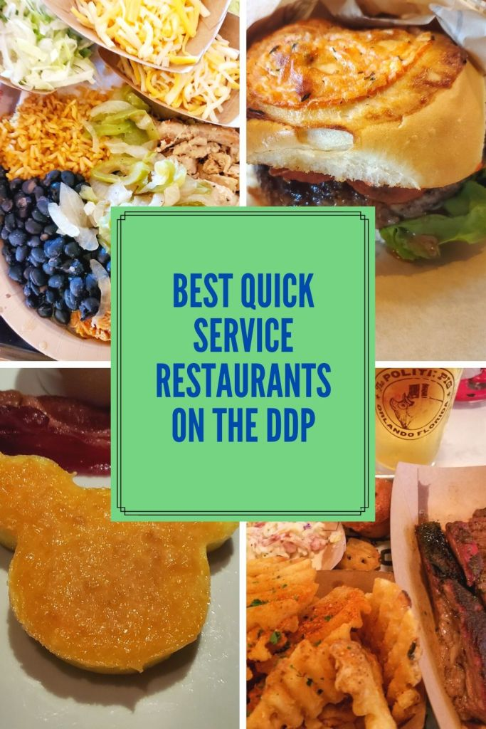 Disney Dining Plan, DDP, WDW, Walt Disney World, quick service, restautants,