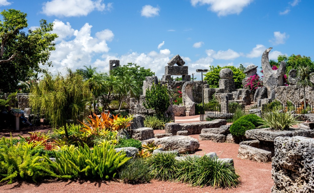 coral castle, Florida, east coast road trip, road trip, Interstate 95, I-95, social distancing, family vacation, off the beaten path, road trip 2020,
