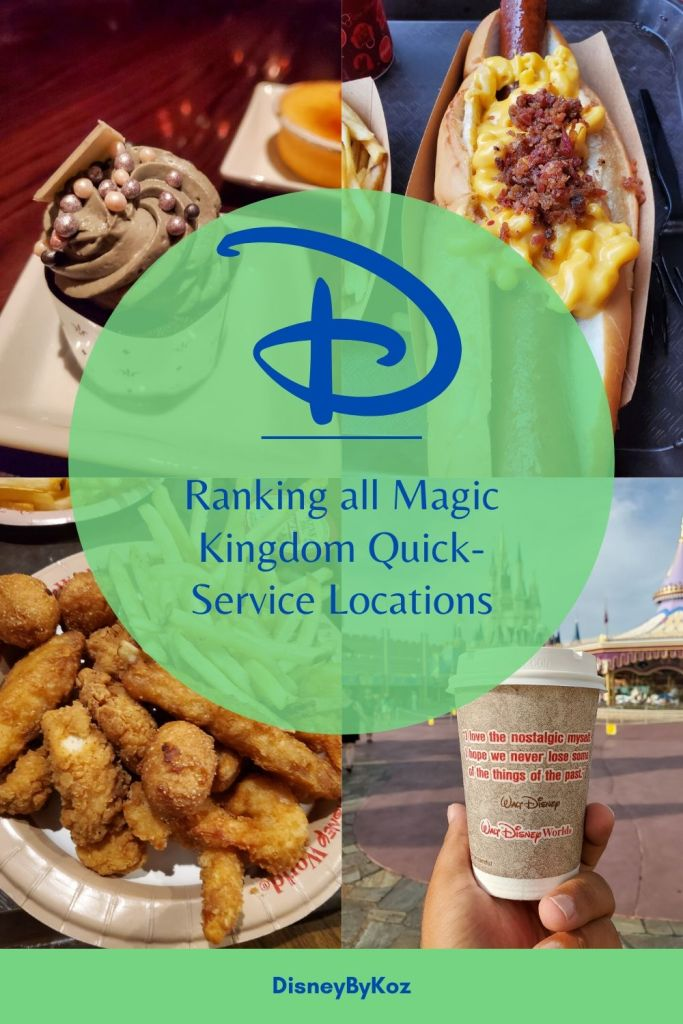 Magic Kingdom, Disney Dining Plan, DDP, WDW, Walt Disney World, quick service, food, restaurants, theme park,