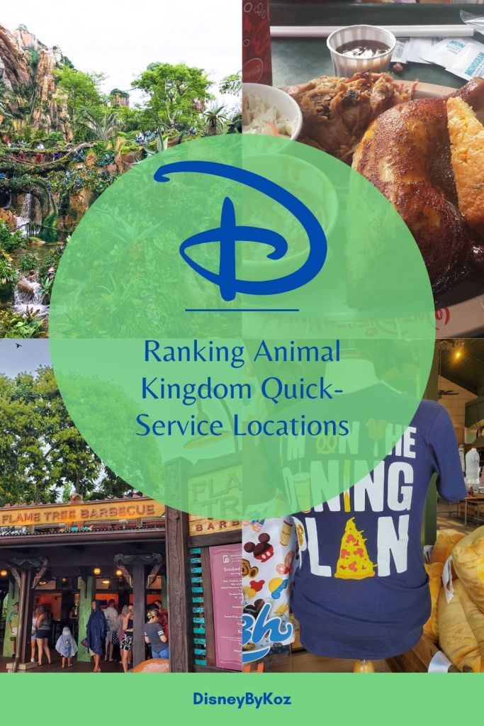 Animal Kingdom, Disney Dining Plan, DDP, WDW, Walt Disney World, quick service, food, restaurants, theme park,