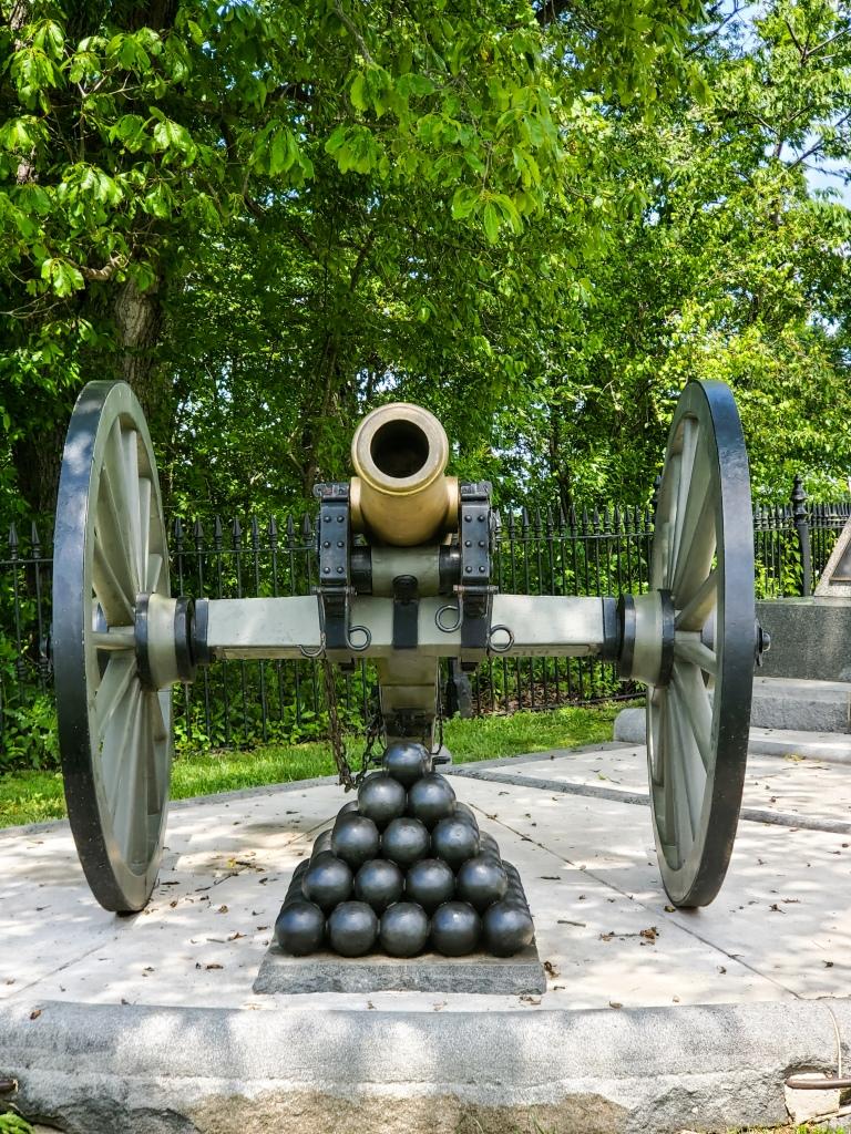 Gettysburg, PA, Battlefield, history, union, confederate, civil war, Pennsylvania, canon