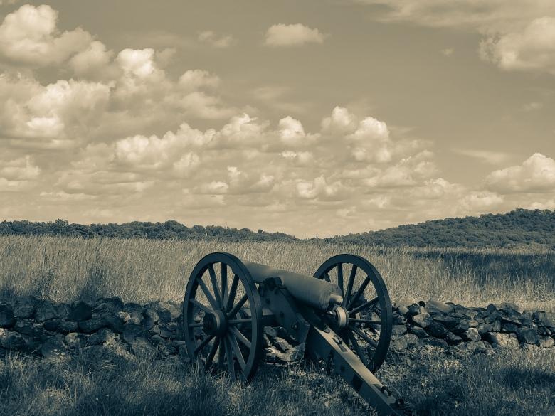 Gettysburg, Civil War, History, Canon, Battlefield,