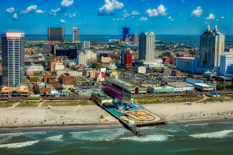 AC, Atlantic City, New Jersey, Jersey, shore, beach, ocean, east coast, United States,