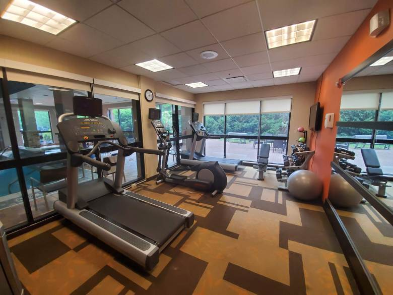 Fitness Center at Courtyard by Marriott