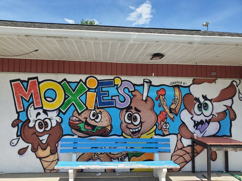 Locally-owned Ice Cream Shop Moxie's