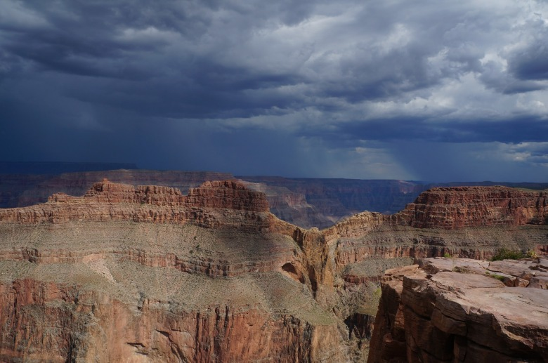 Grand Canyon west home of the famous Skywalk