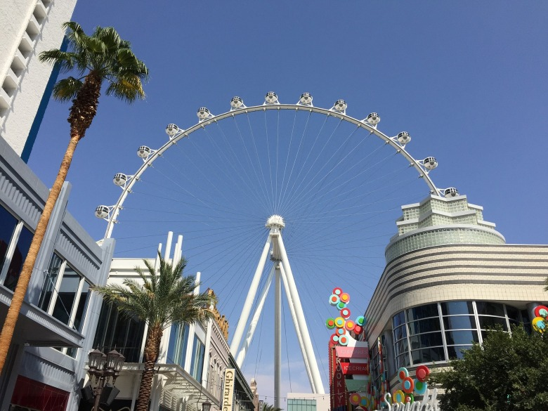 Observation Wheel at the Linq Hotel and Resort in Las Vegas