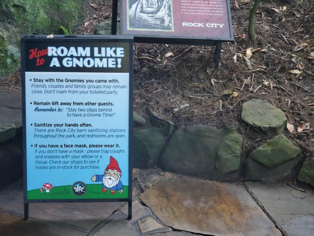 roam like a gnome at rock city