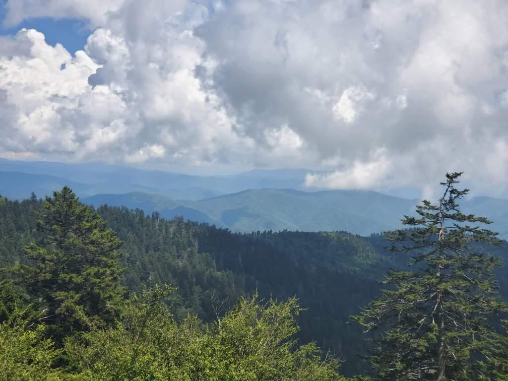 Great Smokey mountain view