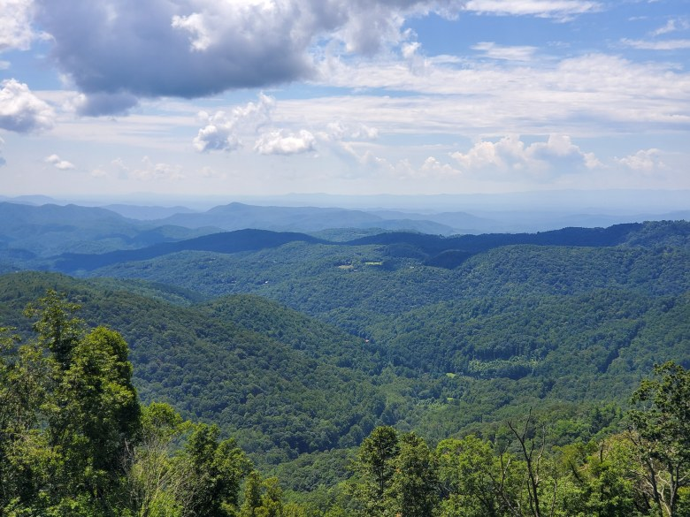 Great Smoky Mountains, scenic, road trip, Tennessee, North Carolina