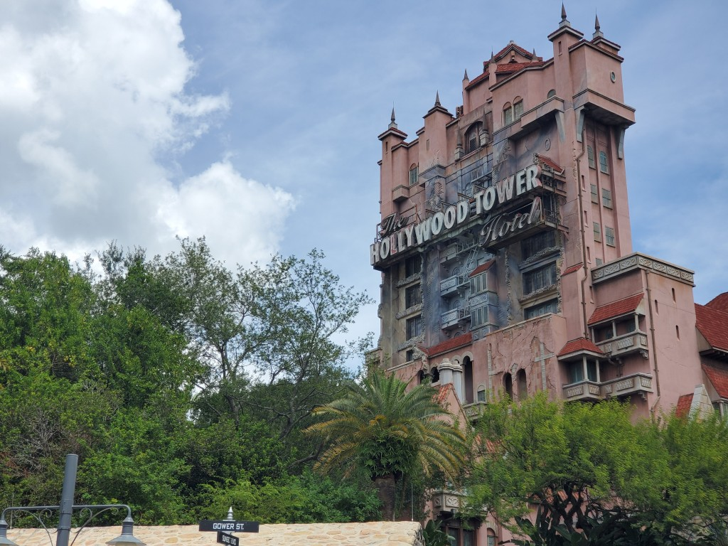 Hollywood Tower Hotel home of the Tower of Terror ride at Disney's Hollywood Studios in Orlando Florida