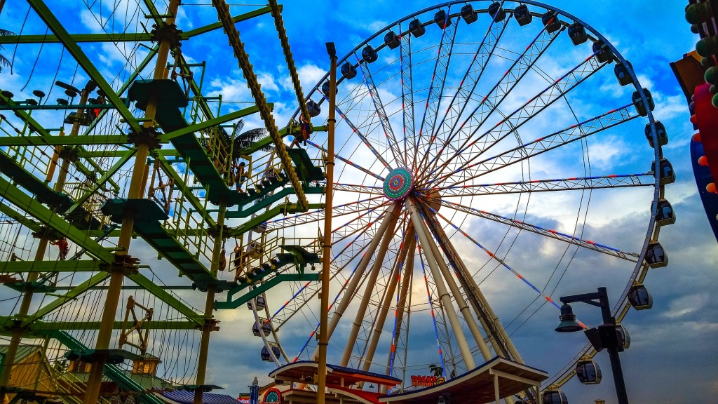 Pigeon Forge, Tennessee, Farris Wheel, Local Attraction,
