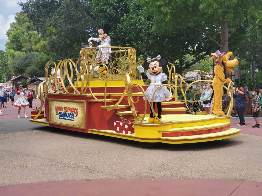 Magic Kingdom Cavalcade