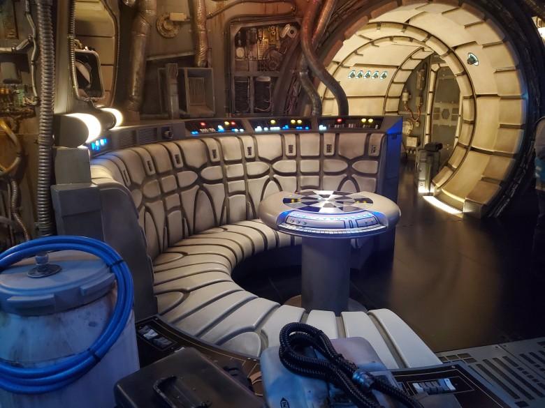 Inside the Millennium Falcon, Hollywood Studios, WDW, Walt Disney World,