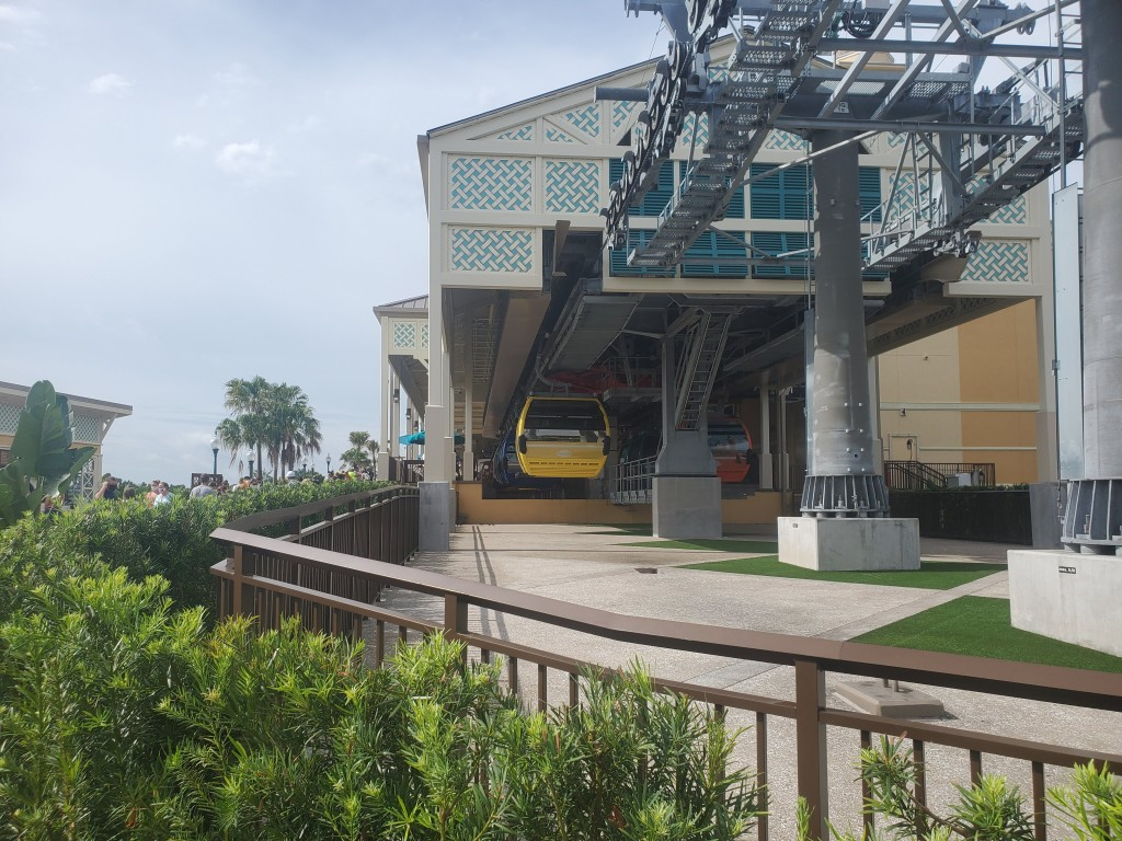 Skyliner at Caribbean Beach Resort at WDW