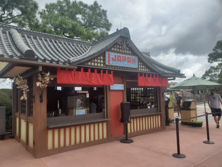 Food and Wine Festival food booth, EPCOT, WDW