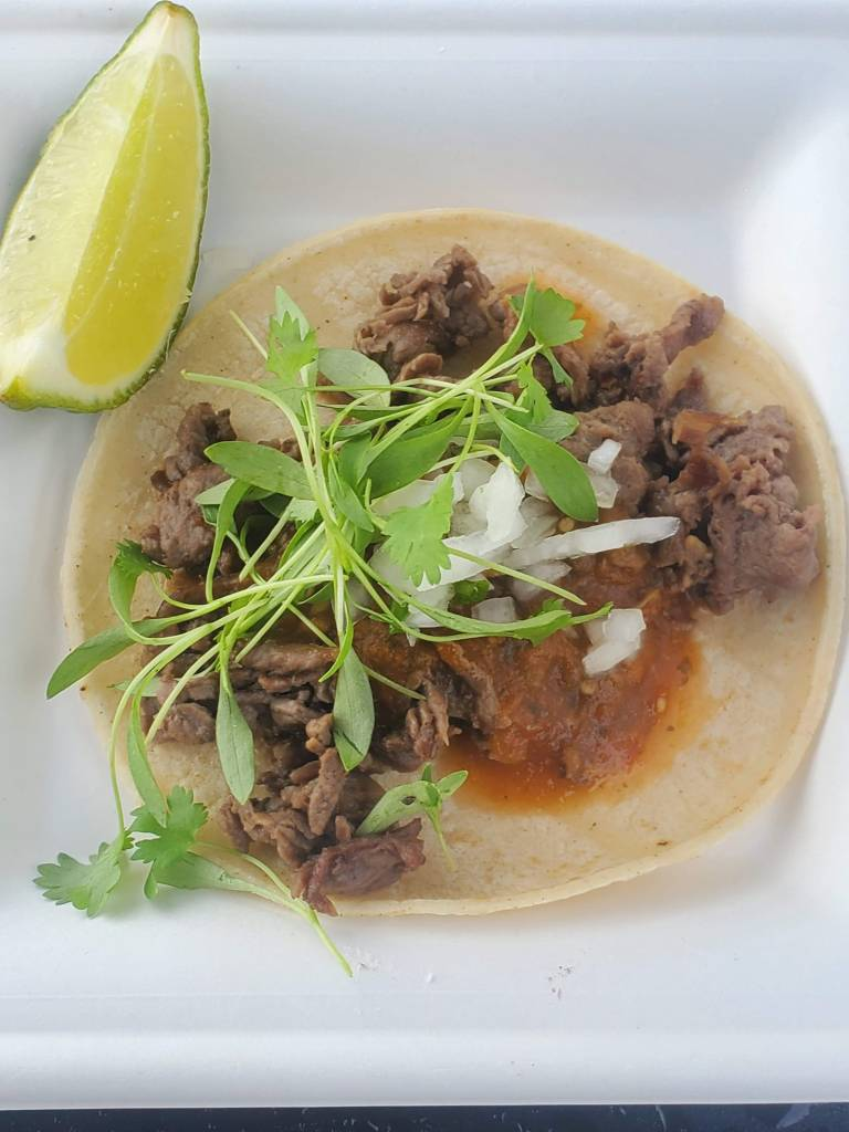 Ribeye Taco at EPCOT Food and Wine Festival