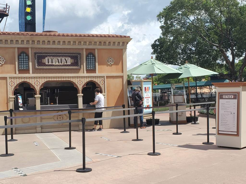 Italy Food Booth at EPCOT 2020 Food and Wine