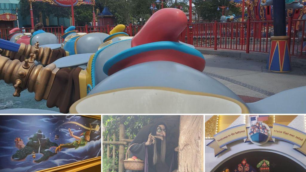 Rides at the magic kingdom