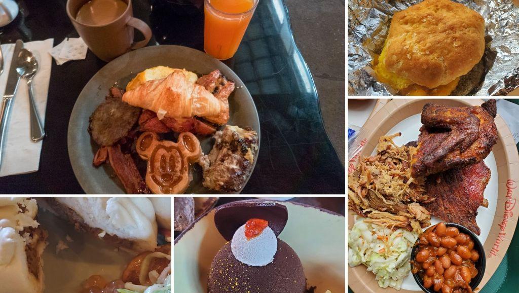 Food at Animal Kingdom, Tusker House, Flame Tree BBQ, Satu'li