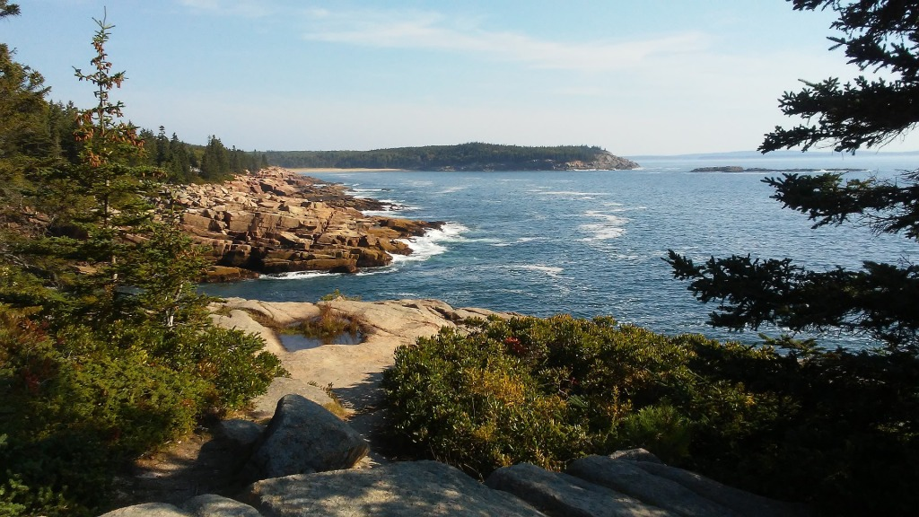 Acadia National Park, Maine, woodlands, coastal, ocean,