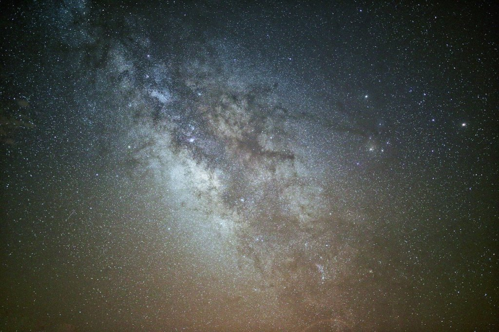 Milky Way Galaxy, Stars, Astrophotography, dark sky,