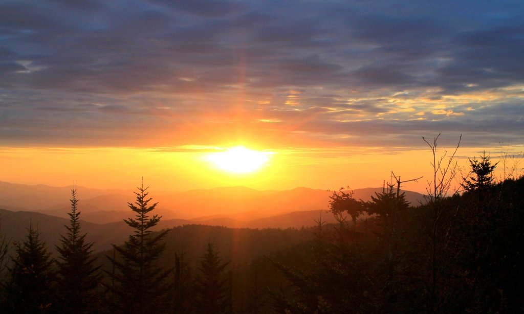 Great Smoky Mountains, Sunrise, Sunset, scenic, beautiful, stunning,