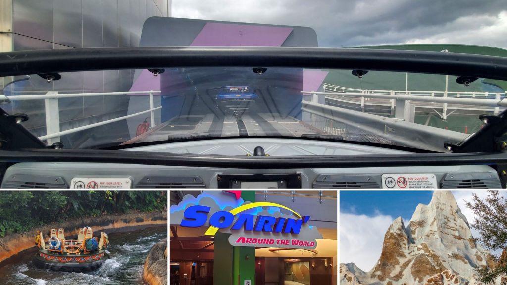 test track, soarin around the world, everest, Animal Kingdom, EPCOT, Rides, WDW, Theme Park, Orlando