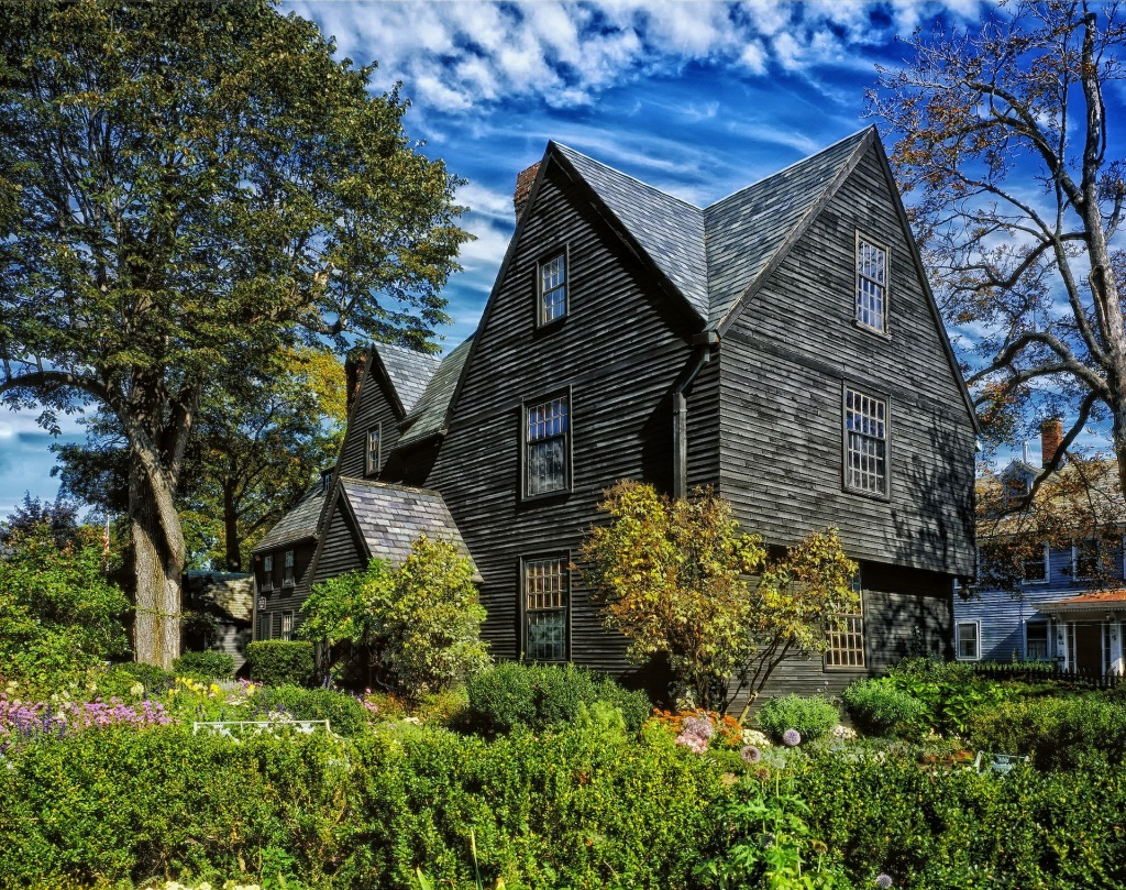 House of the seven gables, Salem, Massachusetts, witches, New England,