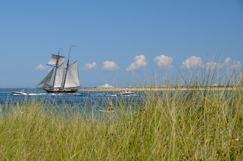 Nantucket, Massachusetts, sailing, beach, boat,
