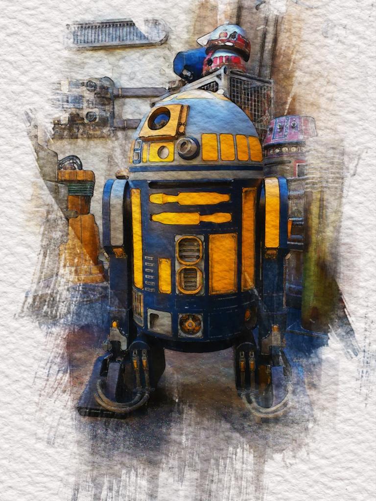 R2 Unit, Galaxy's Edge, Star Wars, Hollywood Studios, WDW, Walt Disney World, theme park,
