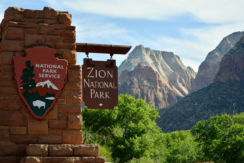 Zion National Park, Mountains, cliffs, scenic, national park service, USA,