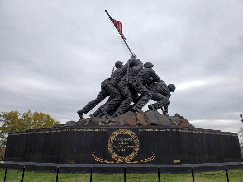 USMC, Marine Corps memorial, Iwo Jima Monument, Arlington, DC,