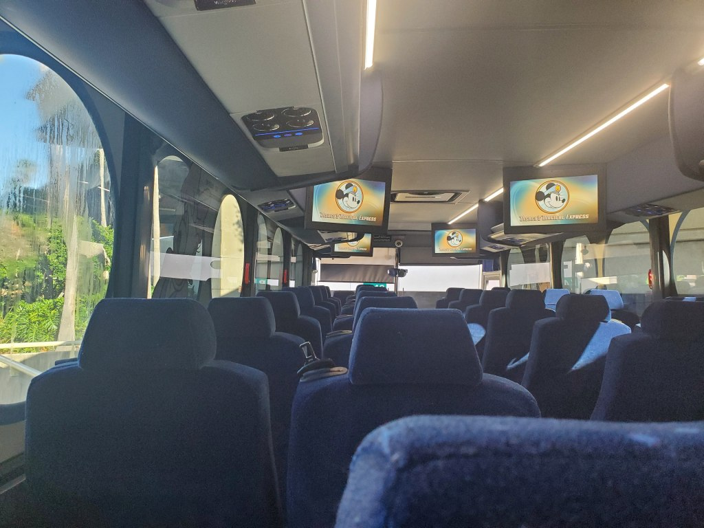 Disney's Magical Express, Bus, Transportation, Airport shuttle, MCO,