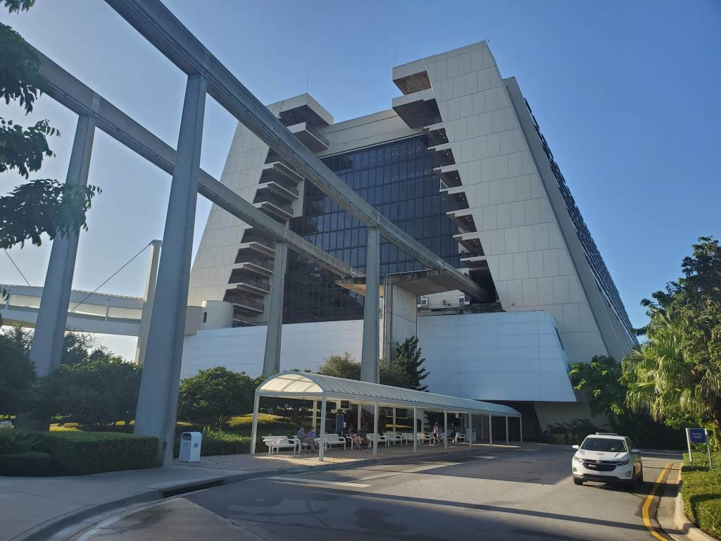 Monorail, Contemporary Resort, Magic Kingdom Resort,
